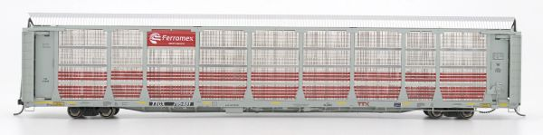 Intermountain Railway Ho Scale Bi-Level Auto Rack Ferromex Gray on Gray TTGX Flat Car