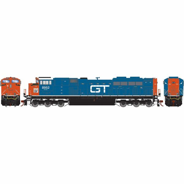 Athearn Genesis 2.0 Ho Scale SD70M-2 CN (Grand Trunk Heritage) #8952 DCC Ready *Reservation*