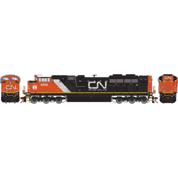 Athearn Genesis 2.0 Ho Scale SD70M-2 Canadian National DCC & Sound *Reservation*