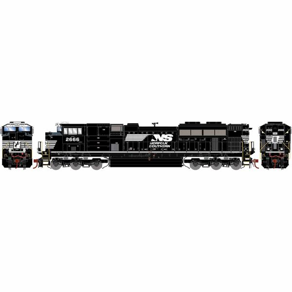 Athearn Genesis 2.0 Ho Scale SD70M-2 Norfolk Southern DCC & Sound *Reservation*