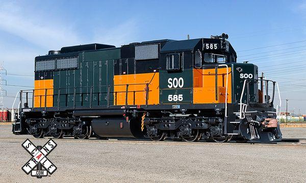 Scaletrains Museum Quality Ho Scale SDL39 SOO Line (Bandit Scheme) DCC & Sound *Reservation*