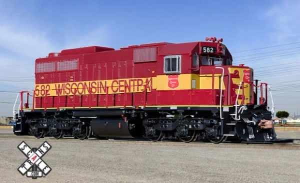Scaletrains Museum Quality Ho Scale SDL39 Wisconsin Central DCC & Sound *Reservation*