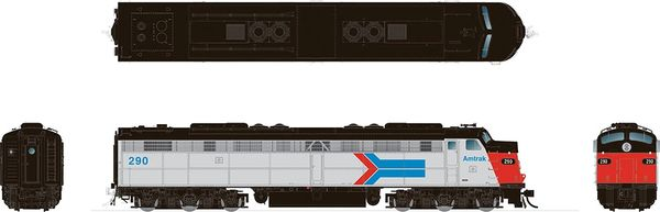 Rapido HO Scale EMD E8 Amtrak DCC & Sound *Reservation*