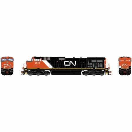 Athearn Genesis 2.0 Ho Scale C44-9W Canadian National DCC & Sound *Reservation*