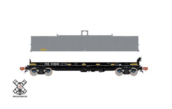 Scaletrains Rivet Counter Ho Scale Thrall-Trinity 42' Coil Steel Car Ferromex (Run 2)
