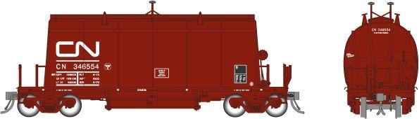 Rapido HO Scale CN (Long) Barrel Ore Hopper (6 Pack) Sets *Reservation*