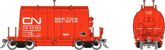 Rapido HO Scale CN Scale Test Car (Short) Barrel Ore Hopper Single Car *Reservation*