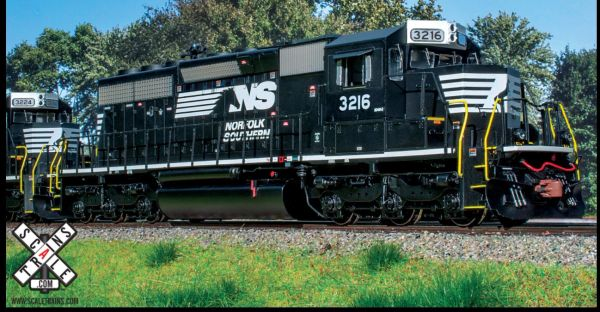 Scaletrains Rivet Counter Ho Scale SD40-2 Norfolk Southern (Admiral Cab) DCC & Sound (3rd Run) *Reservation*