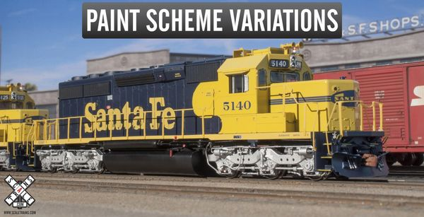Scaletrains Rivet Counter Ho Scale SD40-2 Santa Fe DCC & Sound (2rd Run) *Reservation*