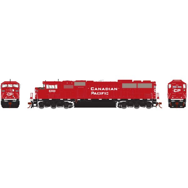 Athearn Genesis 2.0 Ho Scale SD60M Triclops Canadian Pacific DCC Ready