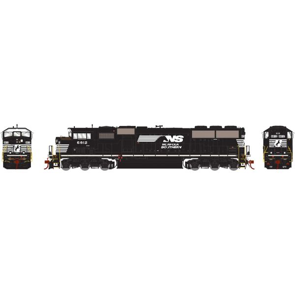 Athearn Genesis 2.0 Ho Scale SD60M Triclops Norfolk Southern DCC Ready