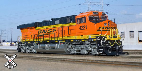 Scaletrains Rivet Counter Ho Scale ES44 BNSF DCC & Sound
