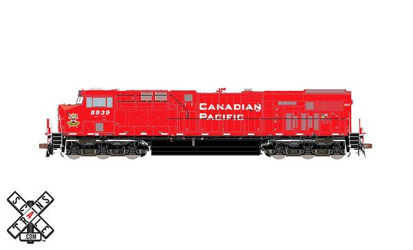 Scaletrains Rivet Counter Ho Scale ES44 Canadian Pacific /Lord Strathconas DCC & Sound *Reservation*