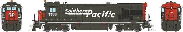 """Rapido HO Scale GE B36-7 Southern Pacific """"Speed Lettering"""" DCC & Sound"""