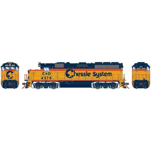 Athearn Genesis Ho Scale GP40-2 Chessie System DCC & Sound *Reservation*
