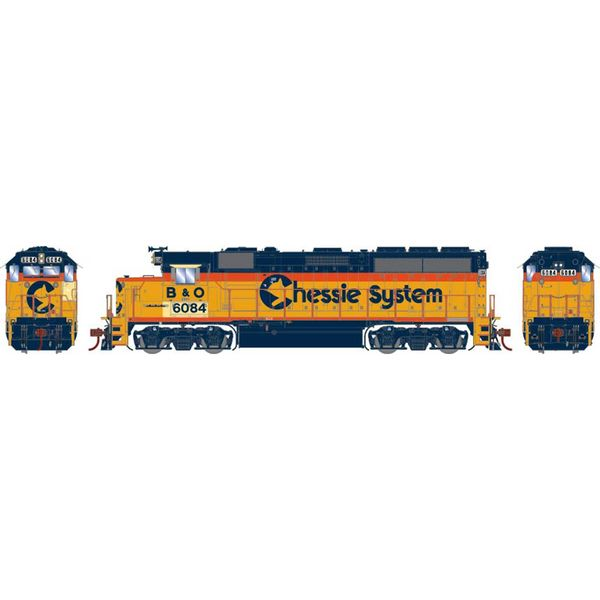 Athearn Genesis Ho Scale GP40-2 CSX (EX -Chessie System) Patched DCC & Sound *Reservation*