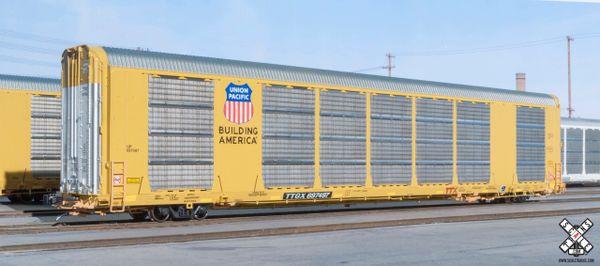 Scaletrains Rivet Counter (2nd Run) Ho Scale Gunderson Multi-Max Autorack Union Pacific/Building America/TTGX