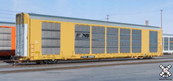 Scaletrains Rivet Counter (2nd Run) Ho Scale Gunderson Multi-Max Autorack Norfolk Southern/Horsehead/TTGX