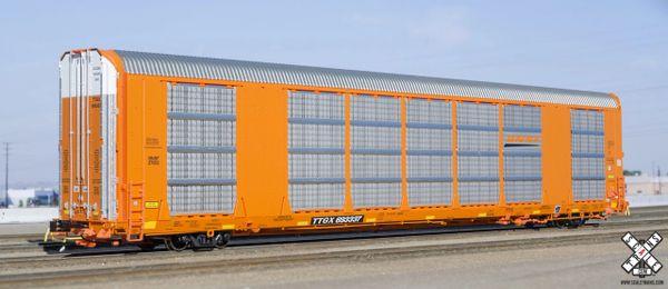 Scaletrains Rivet Counter (2nd Run) Ho Scale Gunderson Multi-Max Autorack BNSF/Orange/TTGX