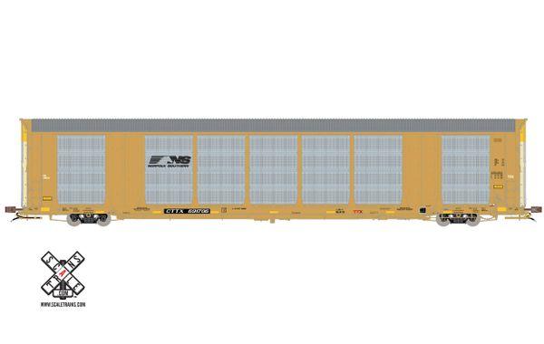 Scaletrains Rivet Counter (2nd Run) Ho Scale Gunderson Multi-Max Autorack Norfolk Southern/Horsehead/CTTX