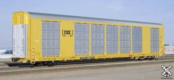 Scaletrains Operator (2nd Run) Ho Scale Gunderson Multi-Max Autorack CSX