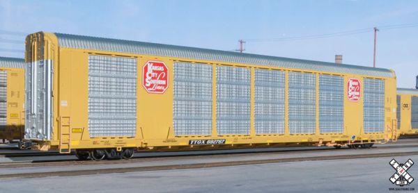 Scaletrains Operator (2nd Run) Ho Scale Gunderson Multi-Max Autorack Kansas City Southern