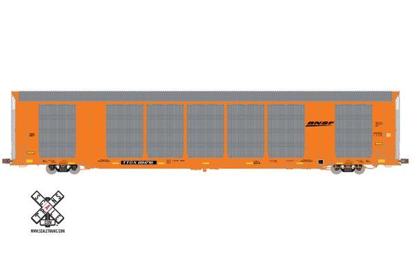 Scaletrains Operator (2nd Run) Ho Scale Gunderson Multi-Max Autorack BNSF