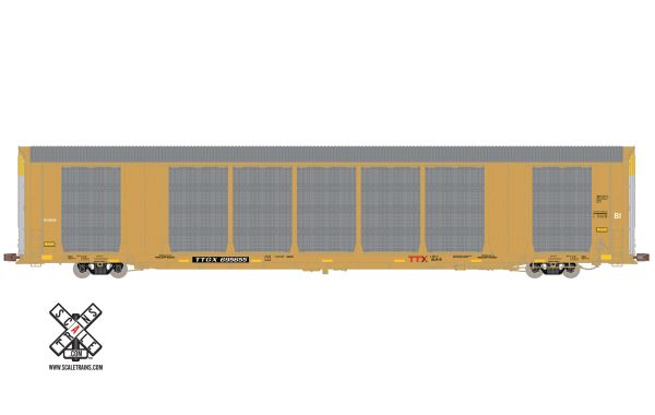 Scaletrains Operator (2nd Run) Ho Scale Gunderson Multi-Max Autorack TTX