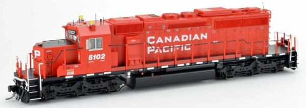 Bowser Ho Scale SD40-3 (3rd Release) Canadian Pacific Block Lettering W/Ditchlights (On Both Ends) DCC Ready