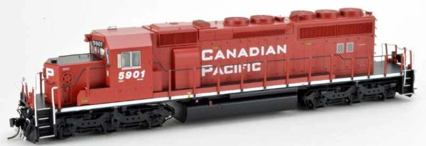 Bowser Ho Scale SD40-2 (3rd Release) Canadian Pacific Block Lettering DCC Ready