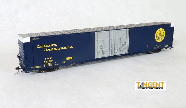 "Tangent Scale Models Ho Scale B&O ""Original 1969"" Greenville 86′ Double Plug Door Box Car"