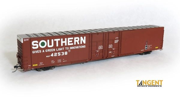 """Tangent Scale Models Ho Scale Southern """"Original 1977""""Greenville 86′ Double Plug Door Box Car"""