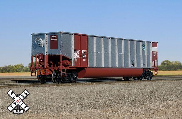 Scaletrains Ho Scale Operator Bethgon Coal Gondola BNSF/Circle-Cross Herald
