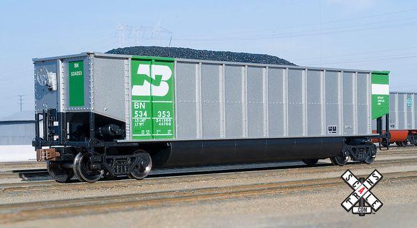 Scaletrains Ho Scale Operator Bethgon Coal Gondola Burlington Northern
