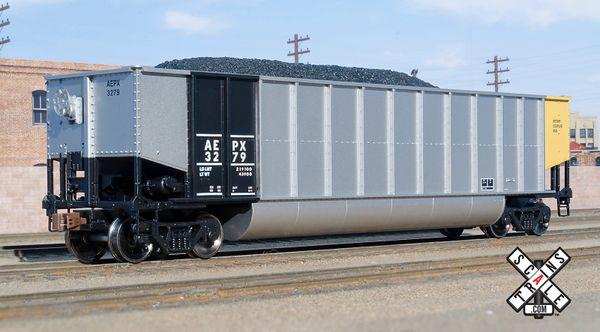 Scaletrains Ho Scale Operator Bethgon Coal Gondola American Electric Power Company/AEPX