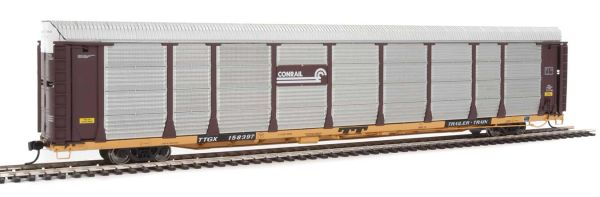 Walthers Proto Ho Scale Bi-Level Autorack Conrail