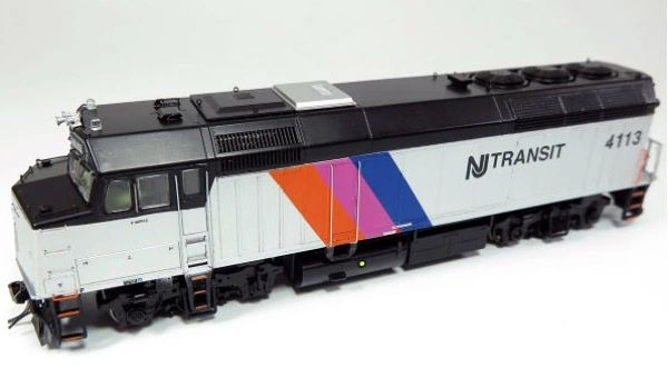 Rapido Ho Scale New Jersey Transit F40PH Phase III DCC & Sound