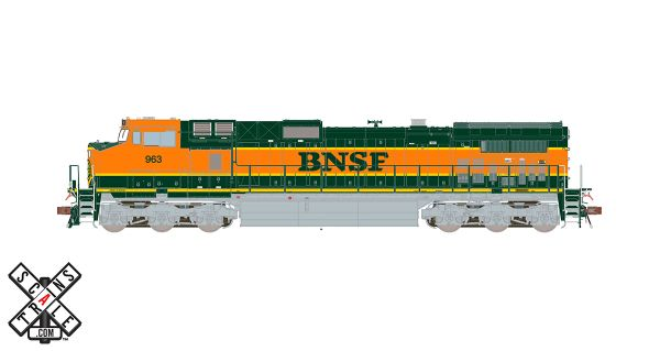 Scaletrains Rivet Counter Ho Scale Dash 9-44W BNSF H1 DCC & Sound *Reservation*