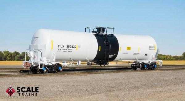 Scaletrains Rivet Counter Ho Scale Trinity 31k Crude Tank Car W/ Heat Shields TILX