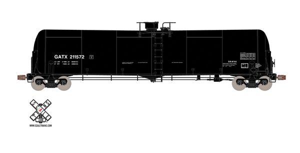 Scaletrains Operator Ho Scale Trinity 31k Tank Car W/ Heat Shields GATX