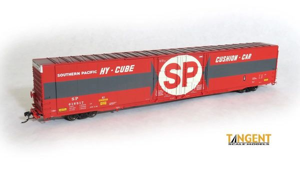 "Tangent Scale Models Ho Scale SP ""Original 1969"" Greenville 86′ Double Plug Door Box Car"