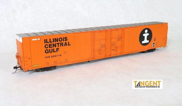 "Tangent Scale Models Ho Scale ICG ""Original 1977"" Greenville 86′ Double Plug Door Box Car"