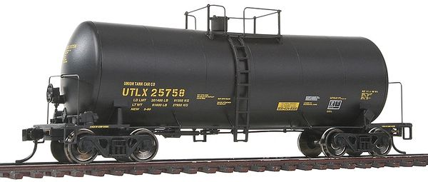 Walthers Proto HO Scale 40' UTLX 16,000-Gallon Funnel-Flow Tank Car
