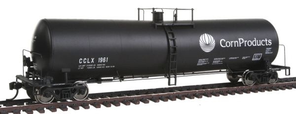 Walthers Proto HO Scale 54' Corn Products #1961 23,000-Gallon Funnel-Flow Tank Car