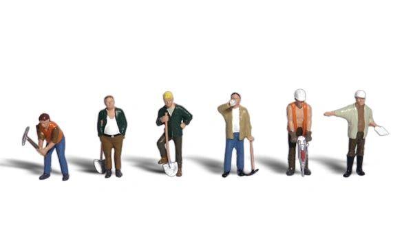 Woodland Scenics Ho Scale Road Crew Figure Pack