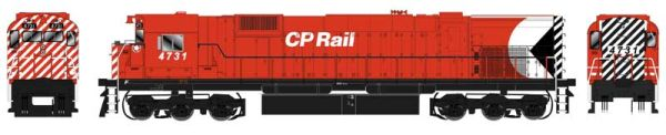 "Bowser HO Scale CP Rail M636 5"" Stripe DCC Ready"