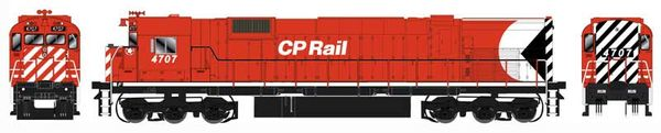 "Bowser HO Scale CP Rail M636 8"" Stripe W/ Water Tank & Ditchlights DCC W/Loksound (Air Start)"