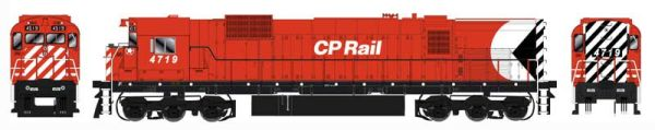 "Bowser HO Scale CP Rail M636 8"" Stripe W/ Water Tank, Ditchlights & Mod. Air Intake DCC Ready"