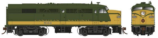 Rapido Ho Scale FA-2 Canadian National (New Logo) DCC W/Sound