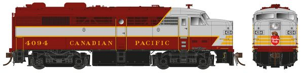 Rapido Ho Scale FPA-2 Canadian Pacific (Block Lettering) DCC Ready